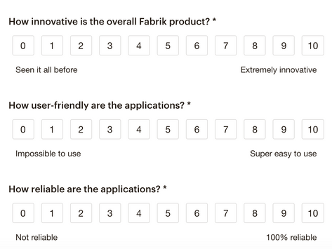 Feedback from our Final Customer Survey of 2020
