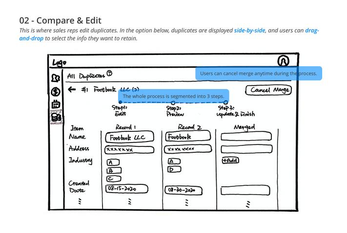 Step02 - Compare & Edit