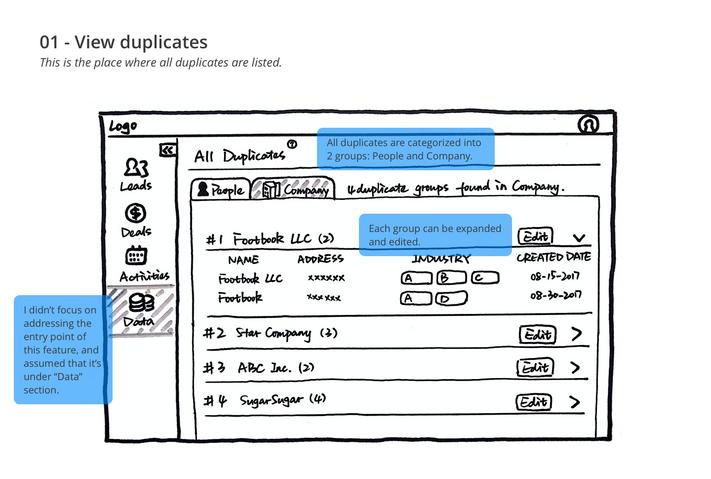 Step01 - View duplicates