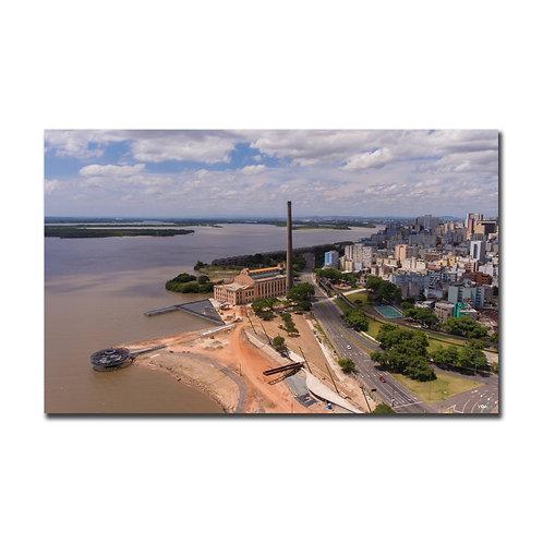 Quadro Revitalização Usina do Gasômetro - Porto Alegre - RS