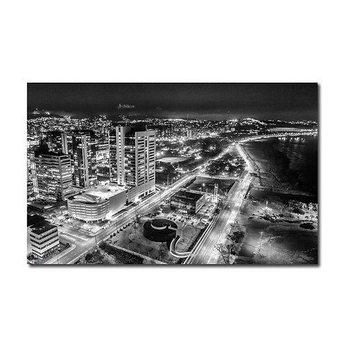 Quadro Porto Alegre Noturno P&B - Porto Alegre - RS