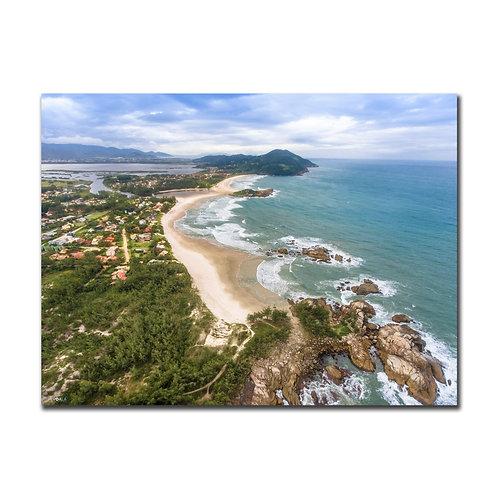 Quadro Praia da Barra e Ferrugem - Garopaba - SC
