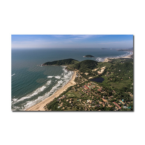 Quadro Praia do Rosa Sul e Praia de Ibiraquera - Imbituba - SC