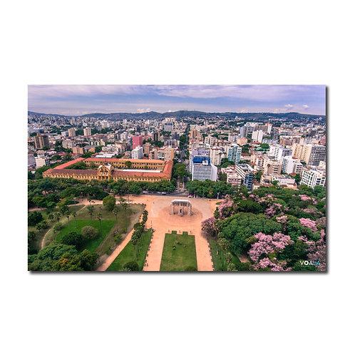 Quadro Parque Farroupilha e Colégio Militar - Porto Alegre - RS