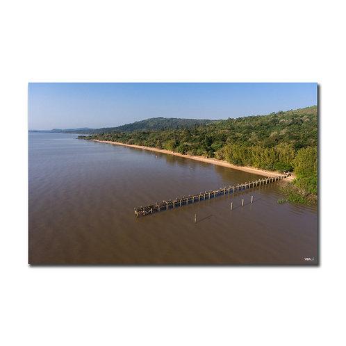 Quadro Praia das Pombas - Parque Itapuã - RS