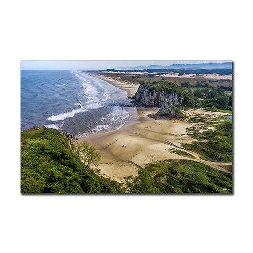Quadro Praia da Guarita com Horizonte - Torres - RS