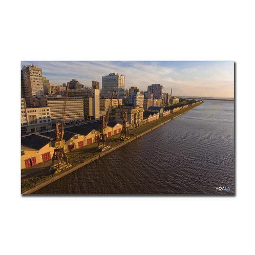 Quadro Cais do Porto - Porto Alegre - RS