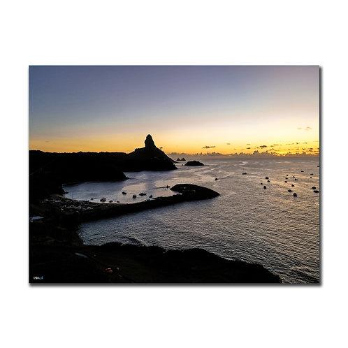 Quadro Pôr do Sol Praia do Porto - Fernando de Noronha - PE
