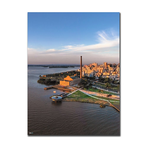 Quadro Usina do Gasômetro Vertical  - Porto Alegre - RS