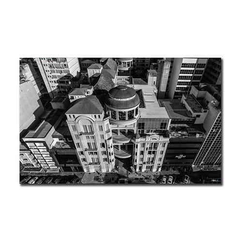 Quadro Casa de Cultura Mário Quintana P&B - Porto Alegre - RS