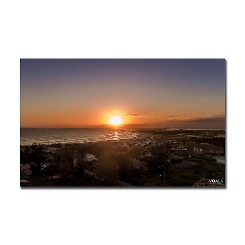 Quadro Pôr do Sol Praia do Cardoso - Farol de Santa Marta - SC