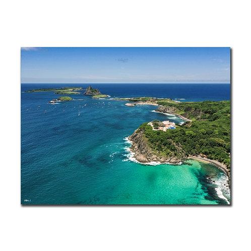 Quadro Praia do Cachorro e Ilhas Secundárias - Fernando de Noronha - PE