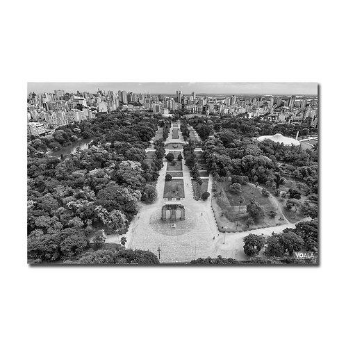 Quadro Parque Farroupilha P&B - Porto Alegre - RS
