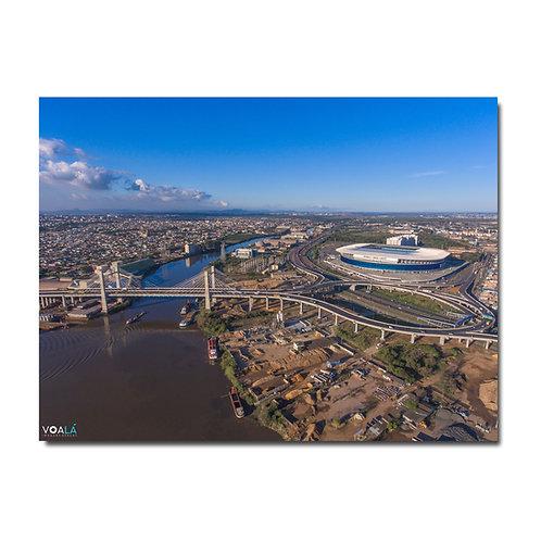 Quadro Arena do Grêmio e Rodovia do Parque - Porto Alegre - RS