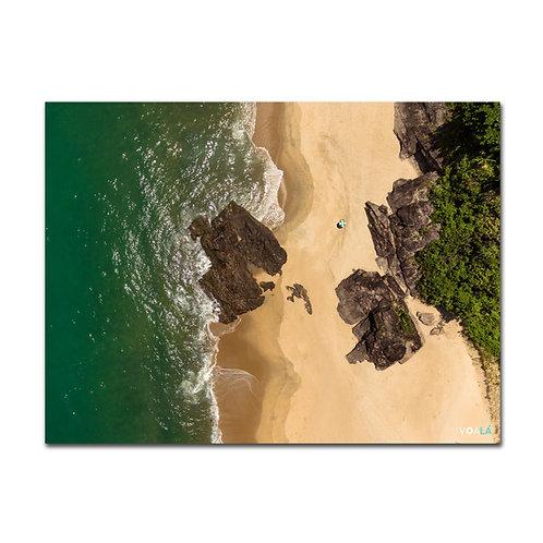 Quadro Praia Boiçucanga Vertical - São Sebastião - SP