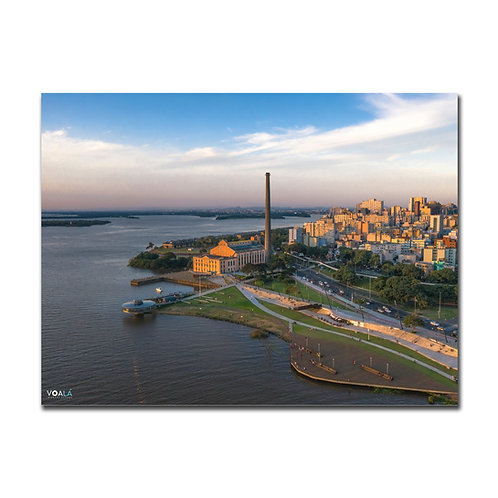 Quadro Usina do Gasômetro  - Porto Alegre - RS