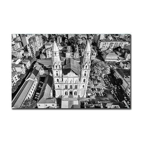 Quadro Igreja Nossa Senhora das Dores P&B - Porto Alegre - RS