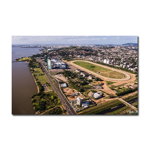 Quadro Jockey Club Hipódromo do Cristal - Porto Alegre - RS
