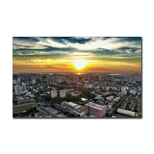Quadro Pôr do Sol Nilo Peçanha - Porto Alegre - RS
