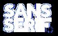 Sans Serif Logo White.png