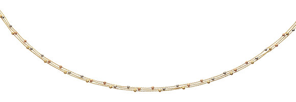 Collier Or 750/000 triple chaines