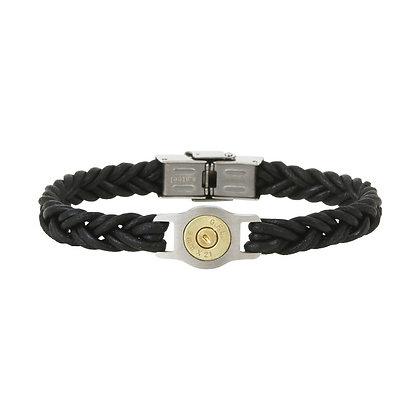 Bracelet cuir tressé BangBang SB011-NOIR-20