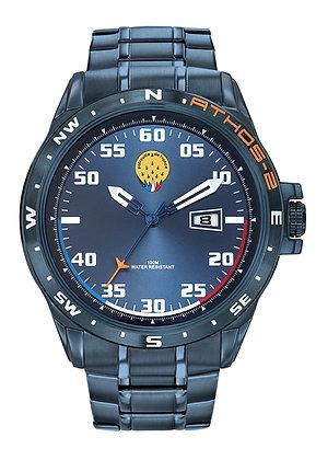 Montre Patrouille de France Acier Homme Bleu Athos2 668057
