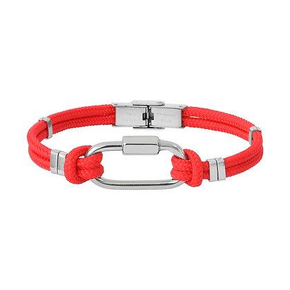 Bracelet Acier Mousqueton  BA08-20-RG-20