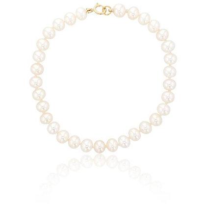 Bracelet perles d'eau douce Or jaune 750/000