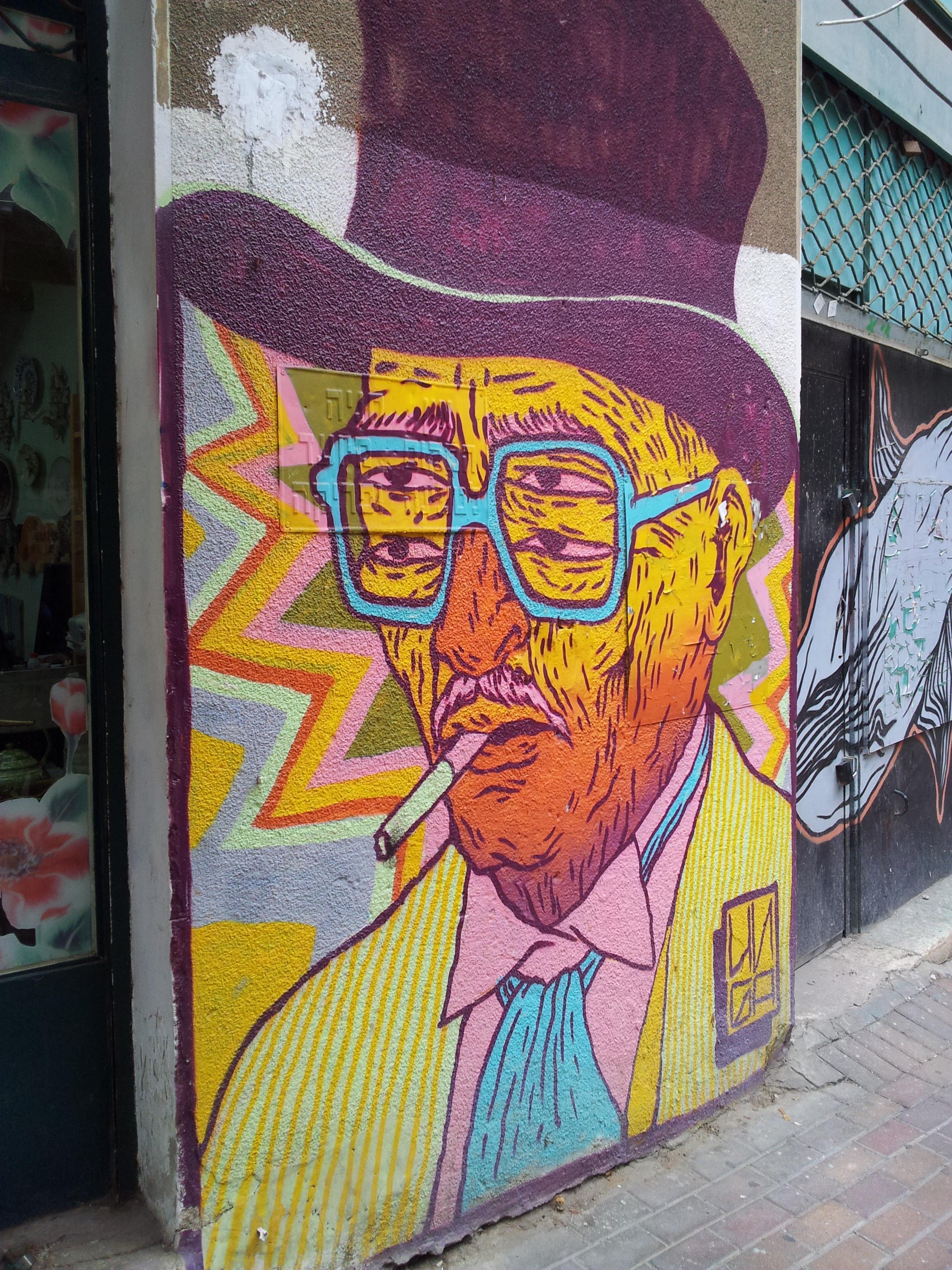 Haifa graffiti Tour