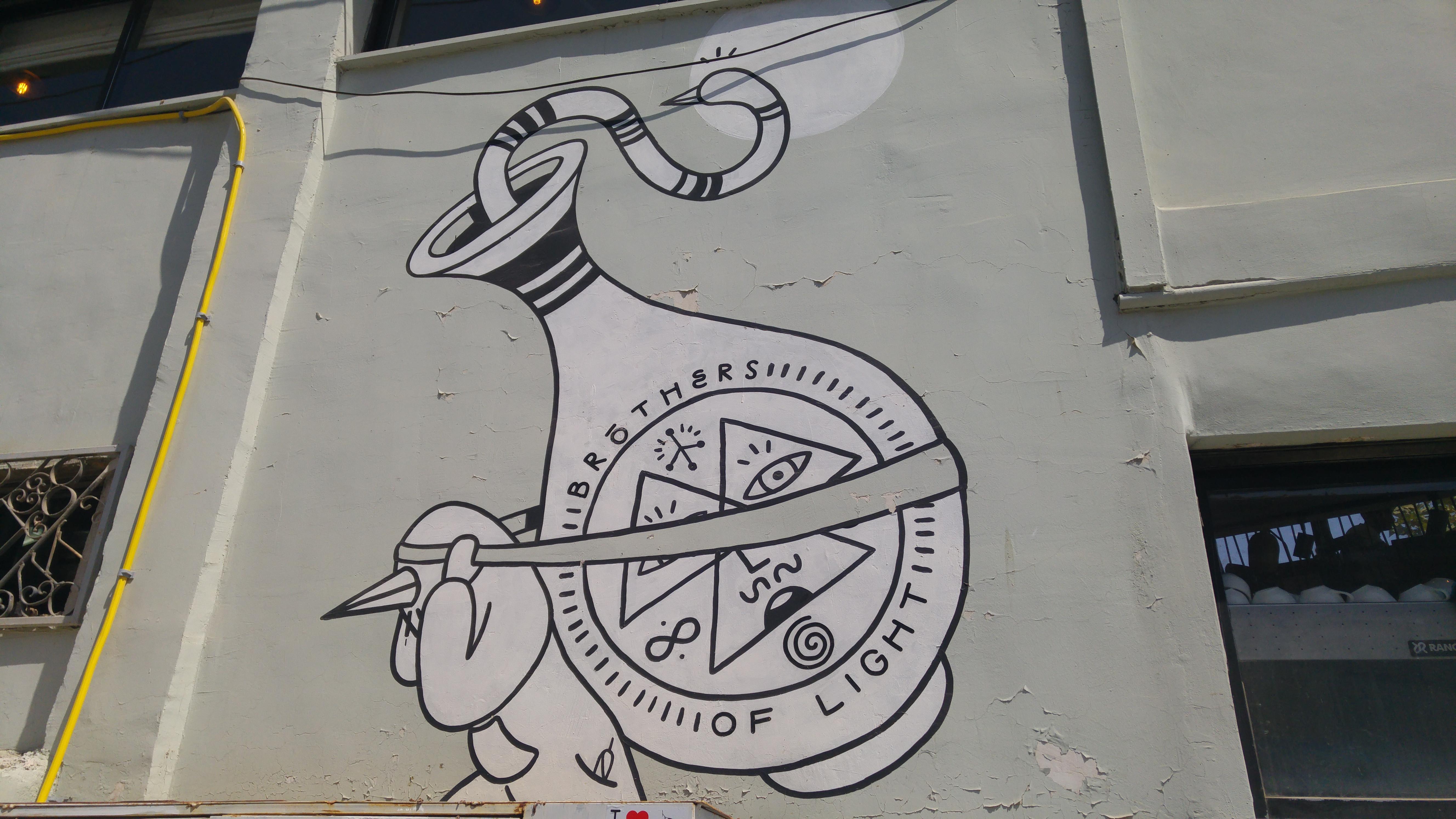 Jerusalem graffiti Tour