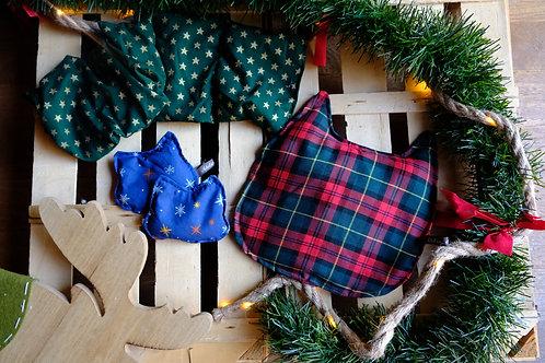 Les bouillottes sèches Noël