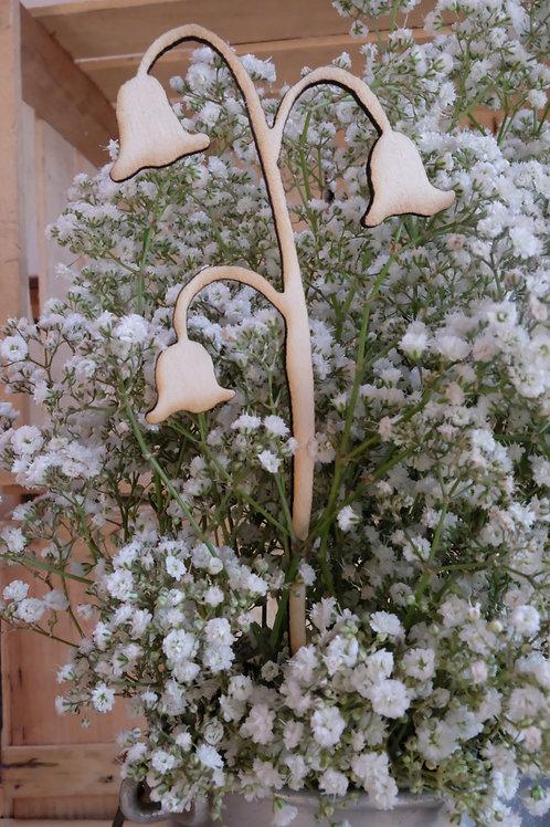 Les fleurs en bois