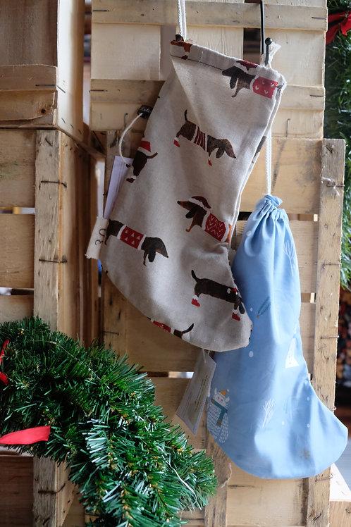 Sac chaussette de Noël pour friandises (en vrac)