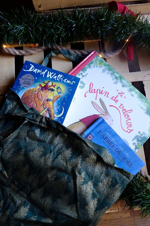 Tote-bag ou le sac à tout Noël