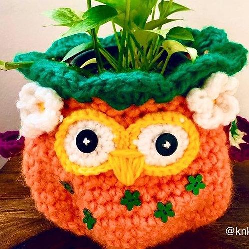 Pumpkin Owlie Basket