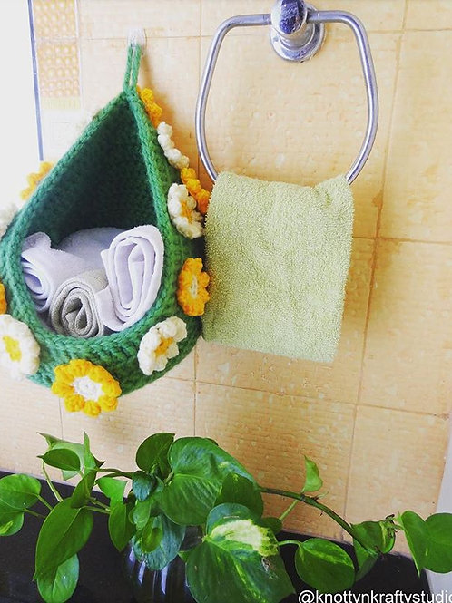 Bird's Nest Hanging Basket