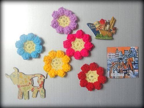 Daisy Fridge Magnets