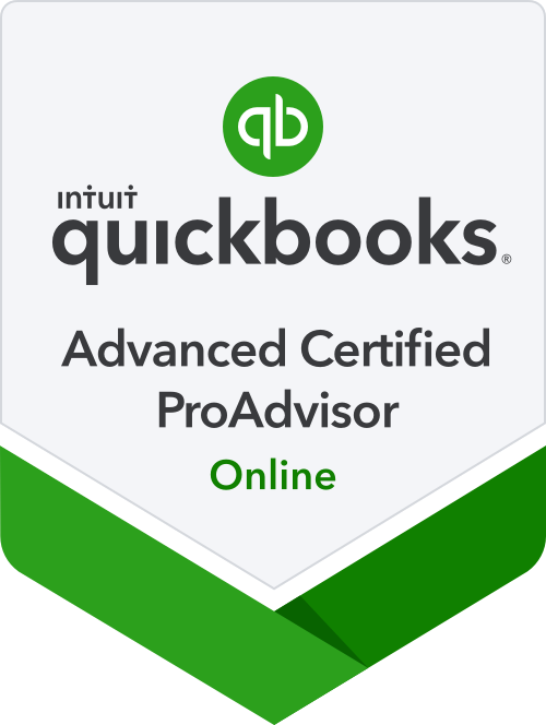 Quickbooks Online Advanced Certified ProAdvisor Badge
