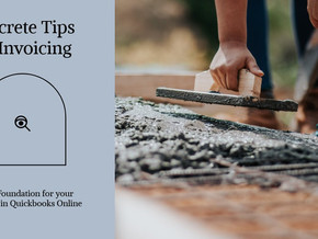 Concrete Tips for Invoicing in QBO