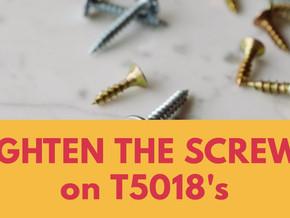 T5018 FILING TIPS