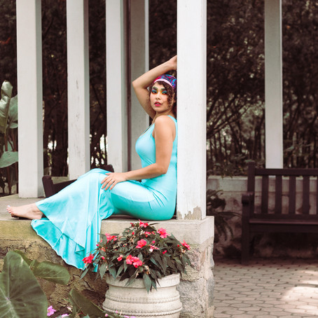 Puerto Rican Inspired Photo Shoot | Boerner Botanical Gardens
