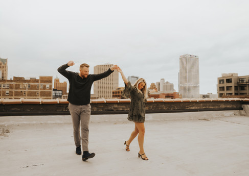 Alex and Keith Third Ward Rooftop Engagement Photos-25.jpg