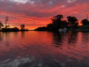 Sunset, Tambo River