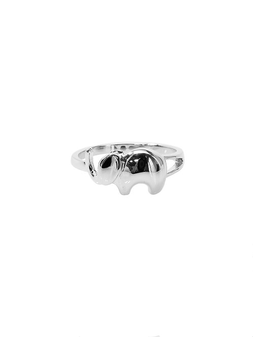 R250 - Sterling Silver Majestic Elephant Ring