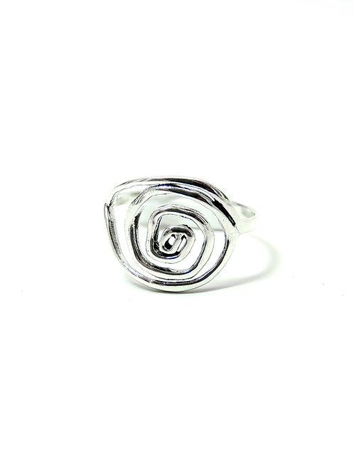 A6425 - Sterling Silver Spiral Ring
