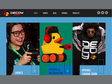 Welcome to the new Decoy Games website