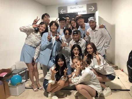 전문반 (김소현) 수강생 / 성윤주강사 sbs 런닝맨 팬미팅 (자카르타)댄서 출연
