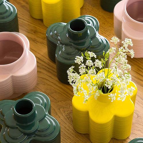 Orla Kiely Striped Petal Stem Ceramic Vase