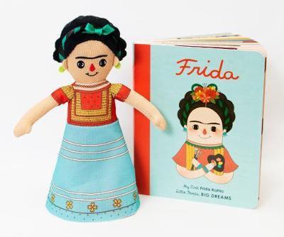 Frida Kahlo Doll and Book Set: For the Littlest Dreamers Vegara, Maria I Sanchez
